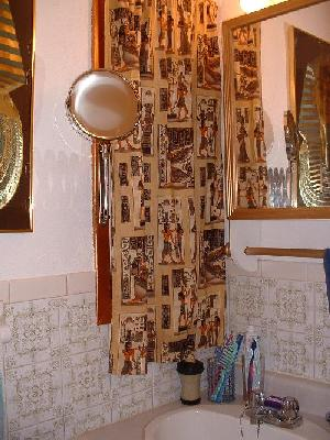Our egyptian bathroom for Egyptian bathroom designs